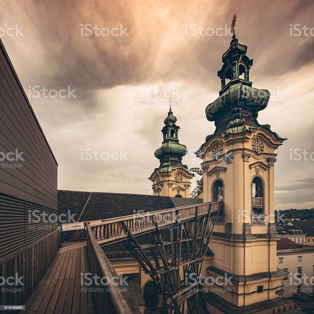 Linz Hoehenrausch stock photo