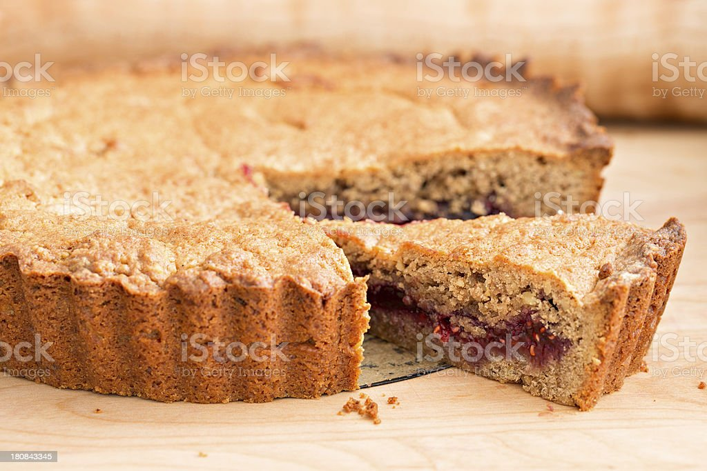 Linzer Torte stock photo
