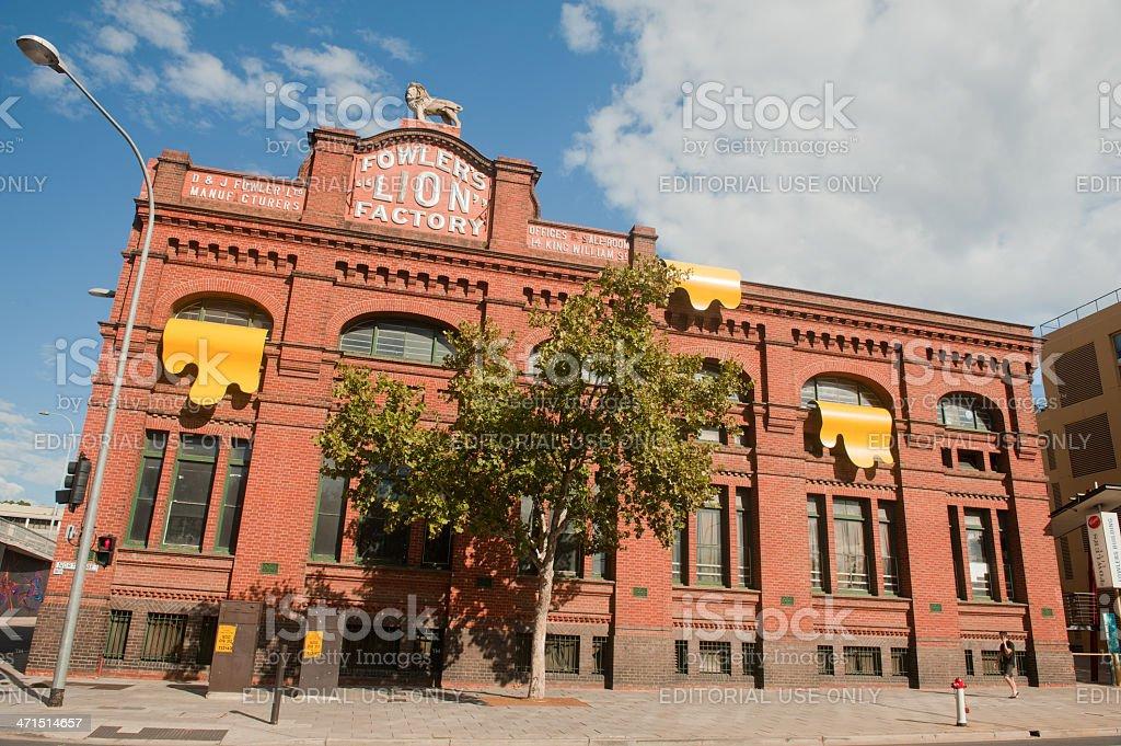 Lion Arts Centre stock photo