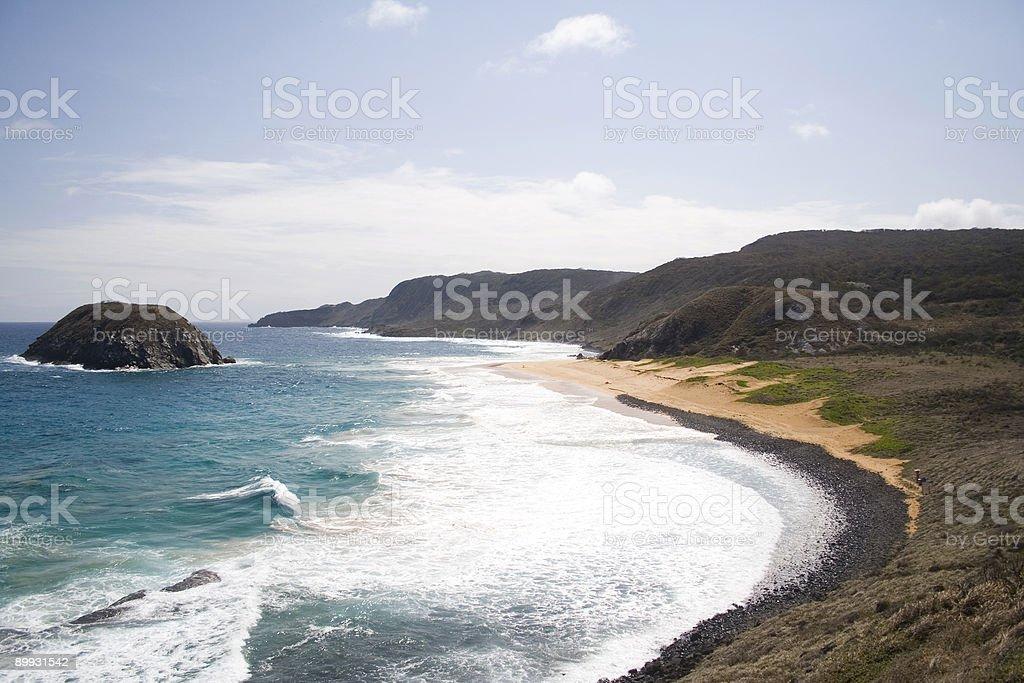 Lion Beach - Fernando de Noronha royalty-free stock photo