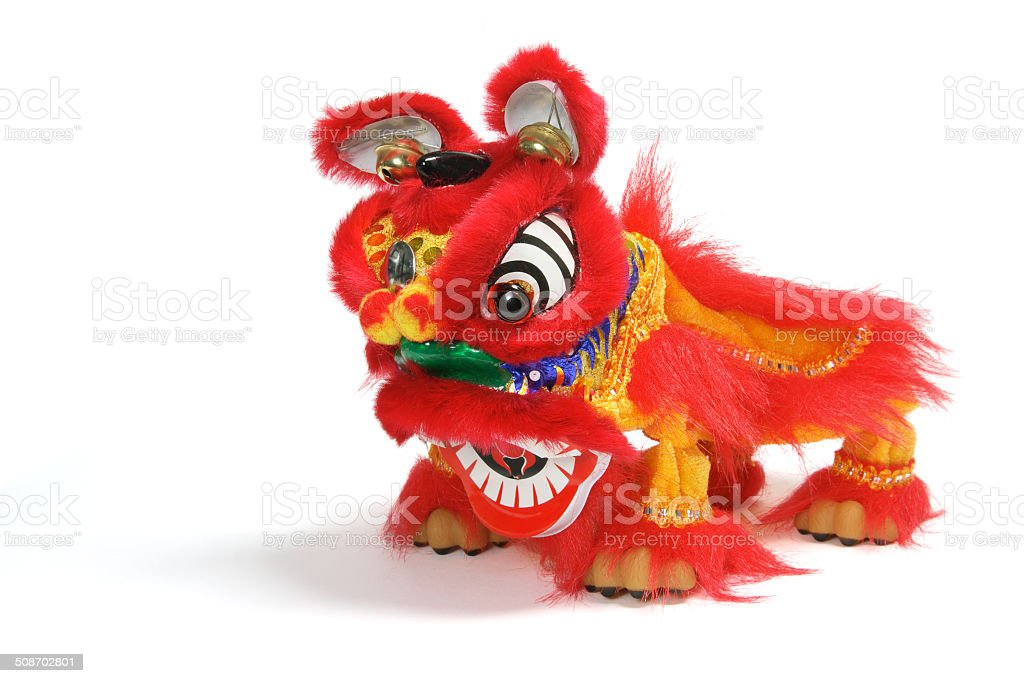 Lion Dancing stock photo