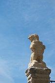 Lion Emblem symbol at Segovia
