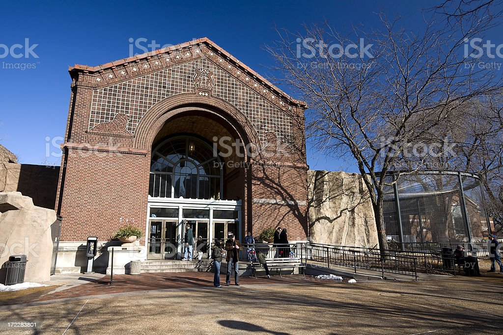 Lion House, Chicago royalty-free stock photo