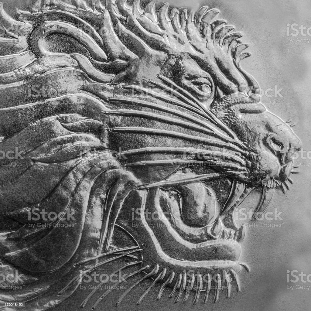 Lion  of Judan stock photo