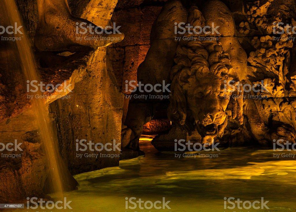 leone dei quattro fiumi royalty-free stock photo