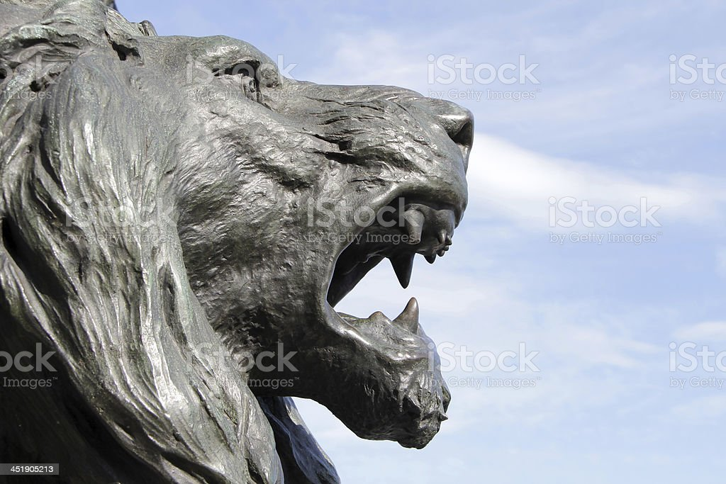 Lion of Venice stock photo