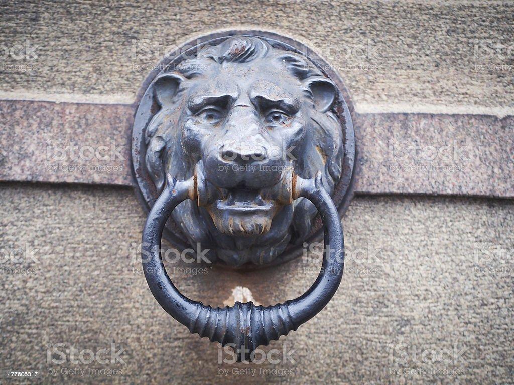 Lion Relief stock photo