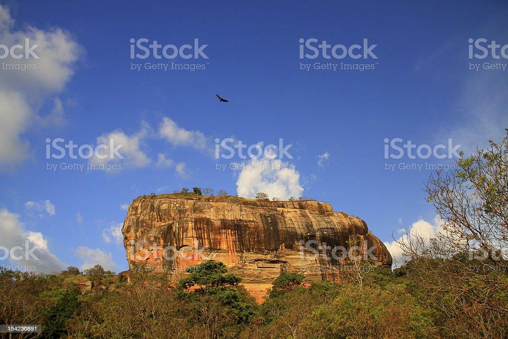 Lion rock - Sigiriya,  Sri Lanka stock photo