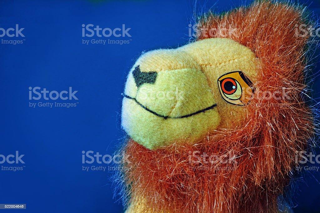 Lion toy royalty-free stock photo