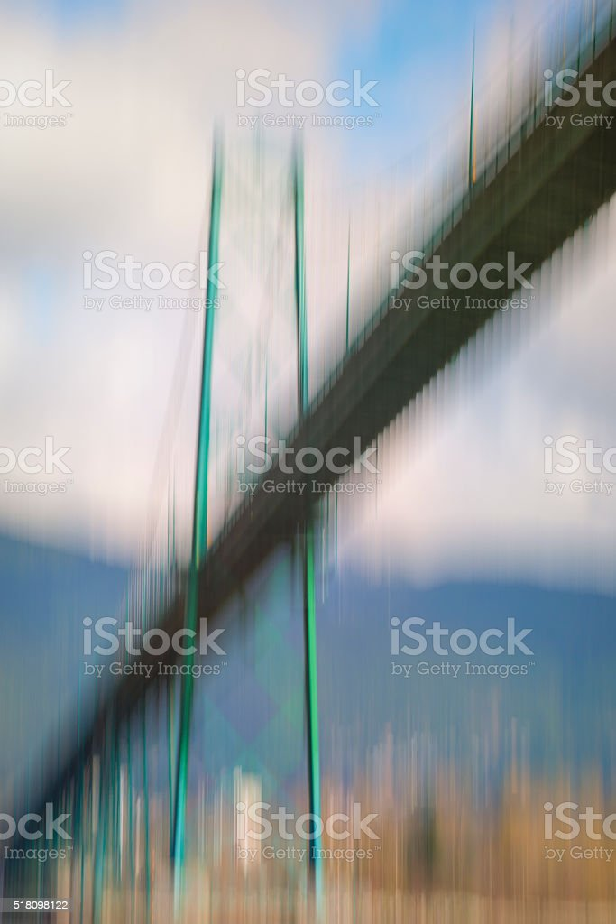 Lions Gate Bridge stock photo