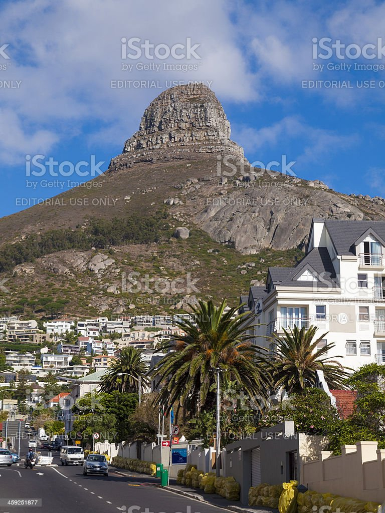 Lions Head, Cape Town South Africa royalty-free stock photo
