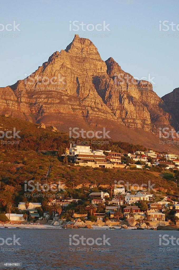 Lion's Head (Cape Town) stock photo