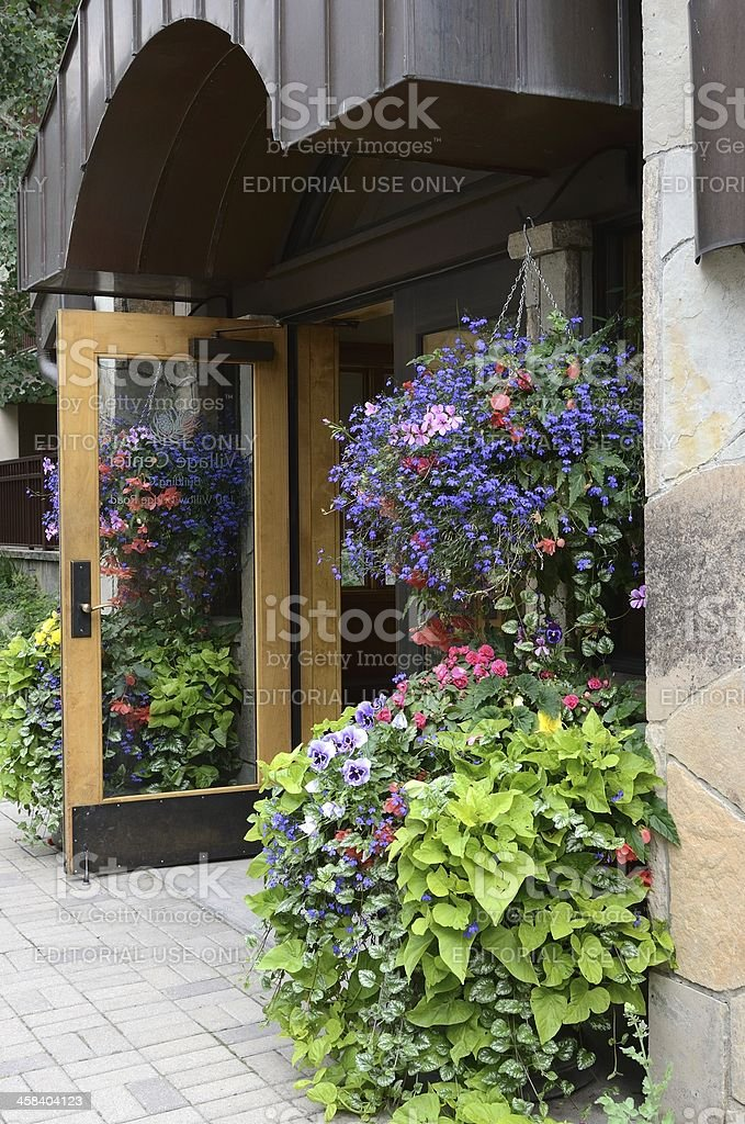 Lionshead Village, Vail, Colorado stock photo