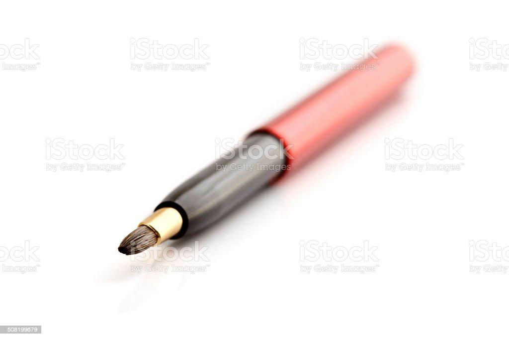 Lip Brush stock photo