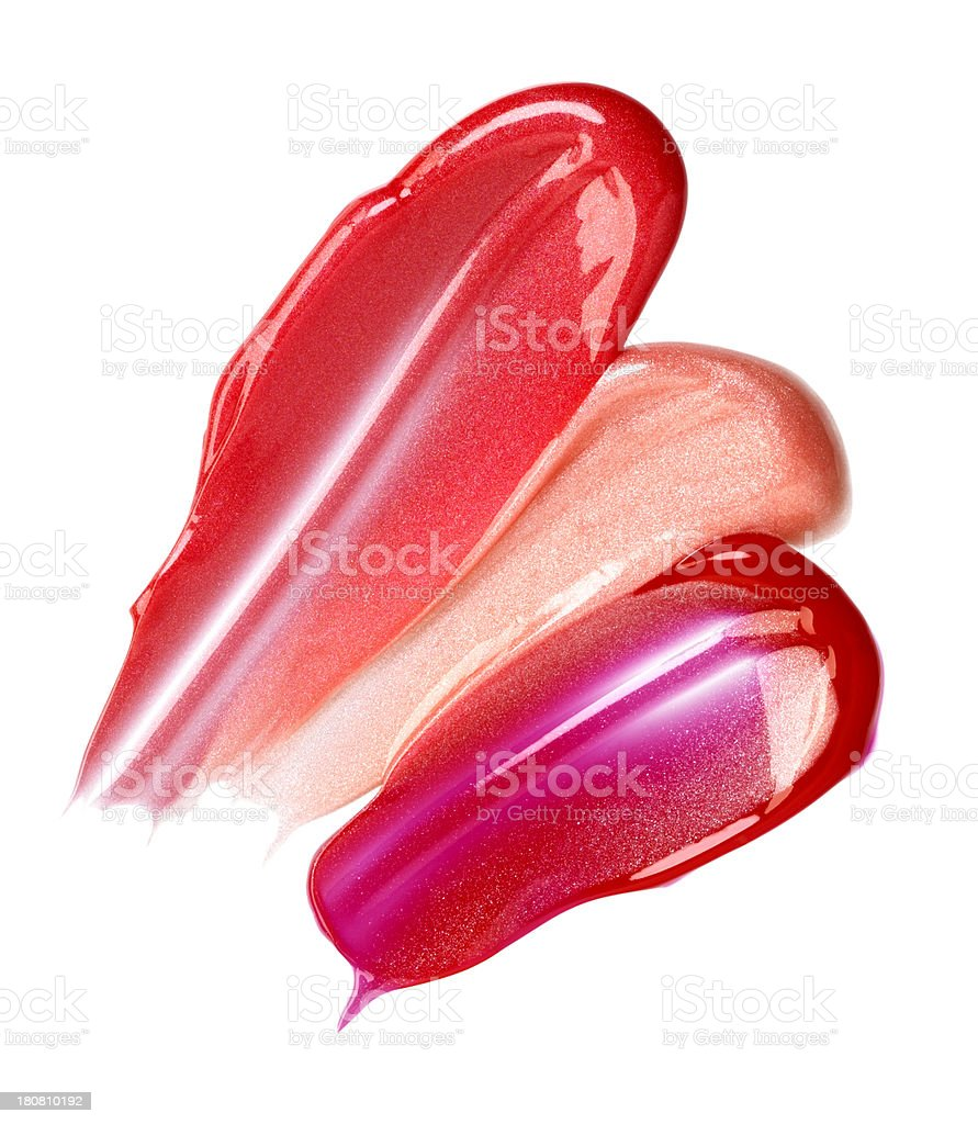 Lip Gloss stock photo