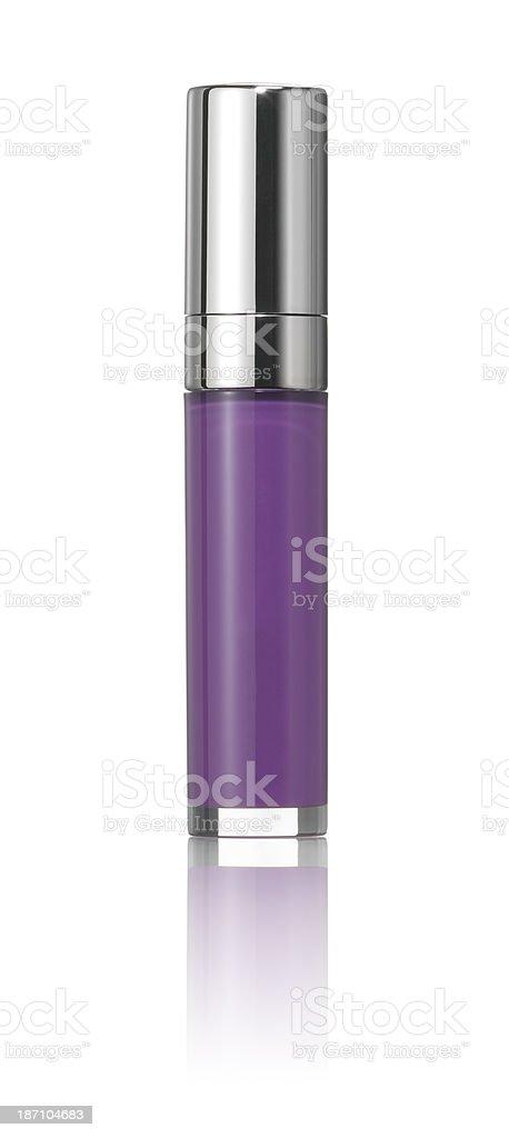 Lip gloss tube stock photo