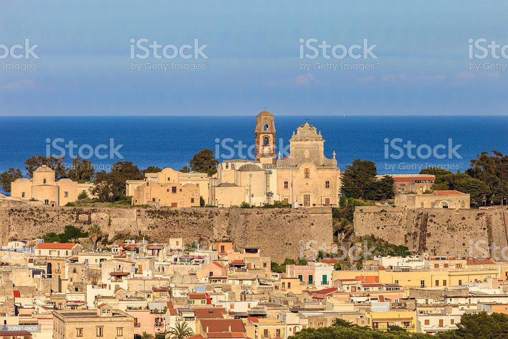 Lipari - Aeolian Islands, Sicily stock photo