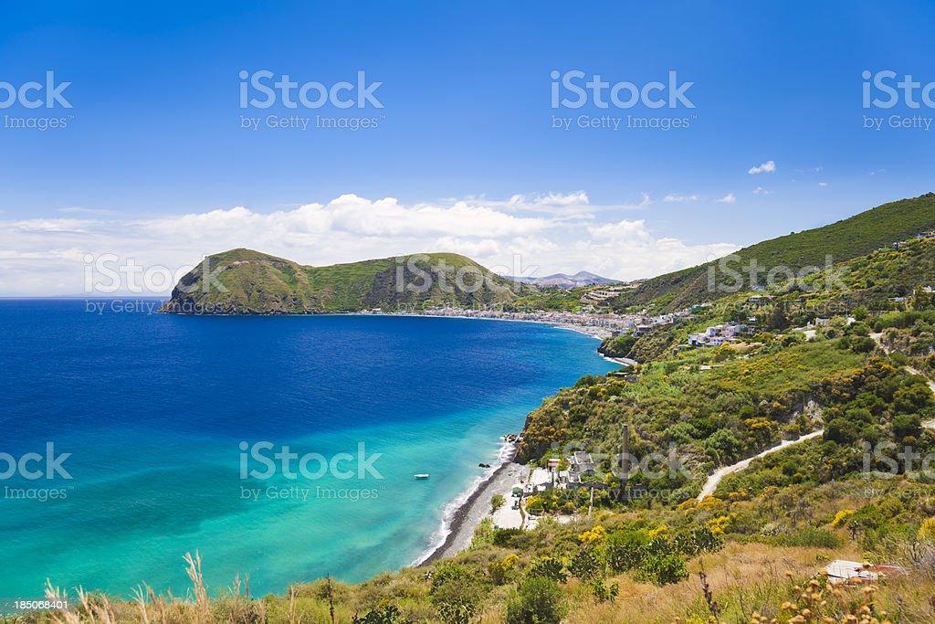 Lipari Island (Aeolian Islands, Sicily, Italy) stock photo