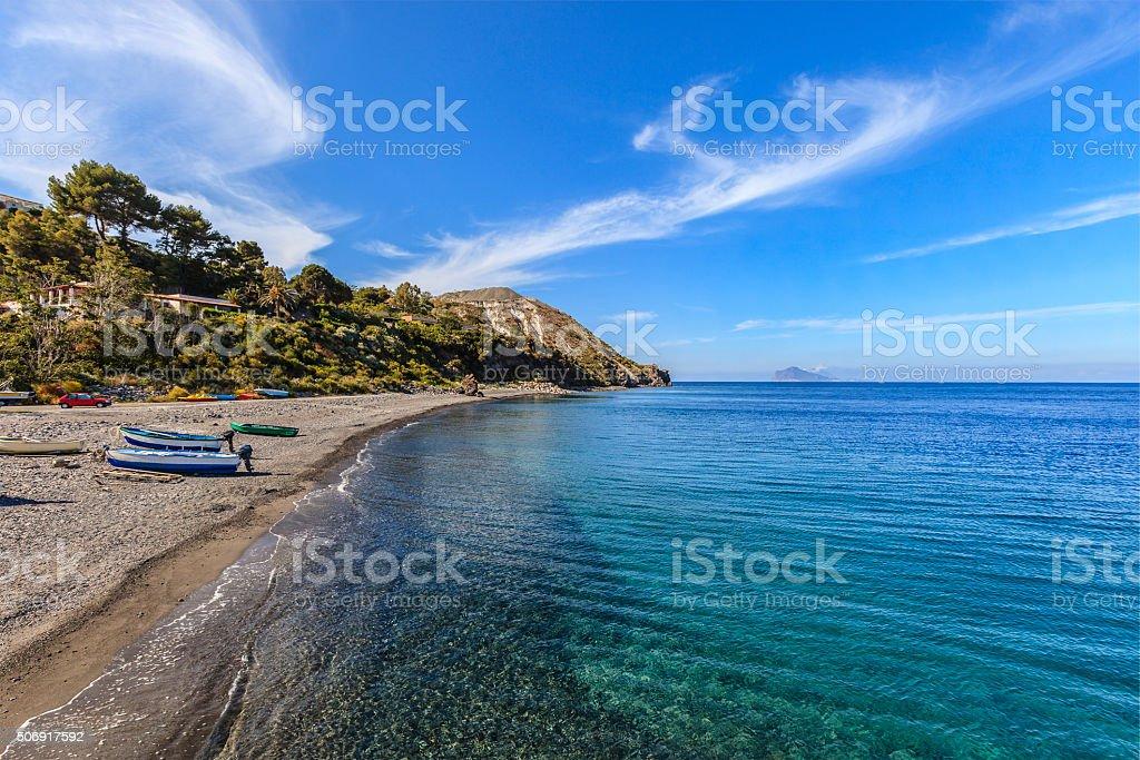 Lipari, Porticello - Aeolian Islands, Sicily stock photo