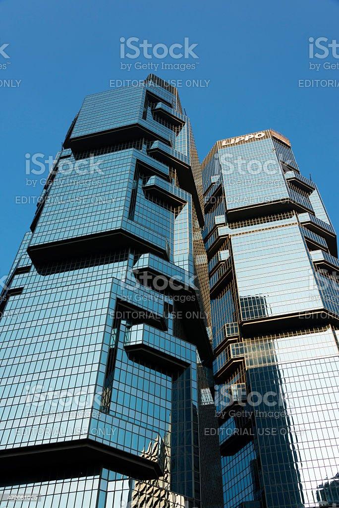 Lippo Towers stock photo