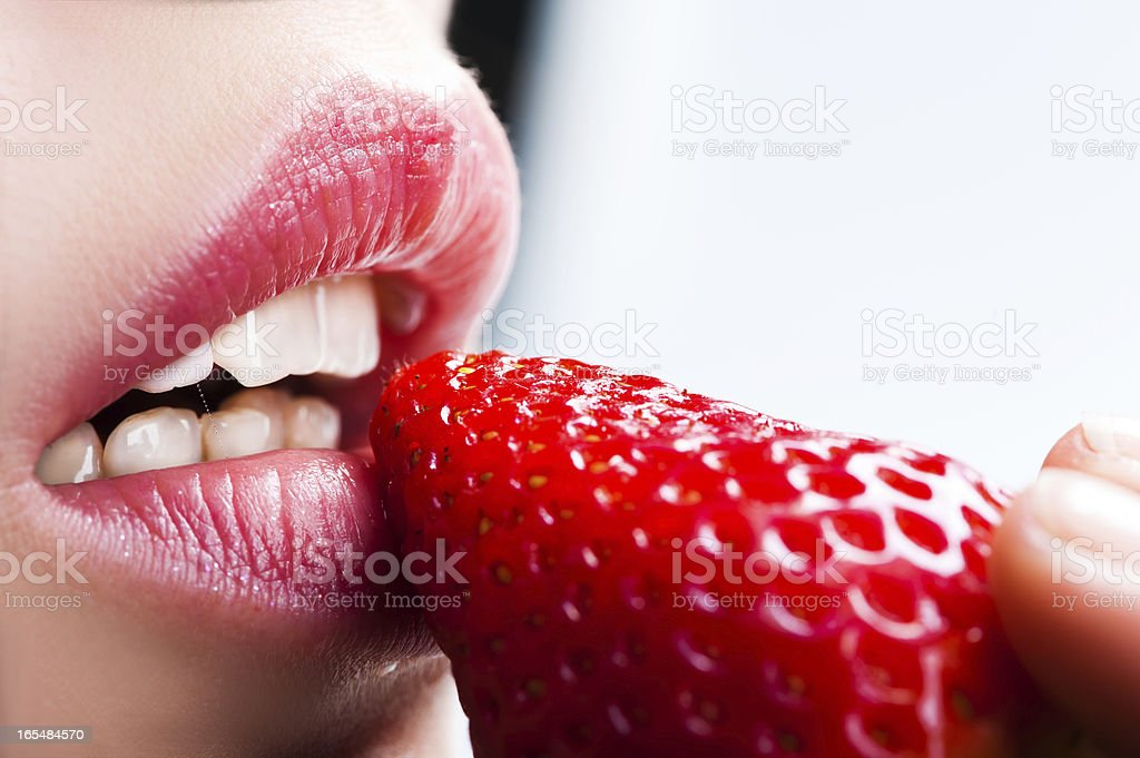 lips royalty-free stock photo