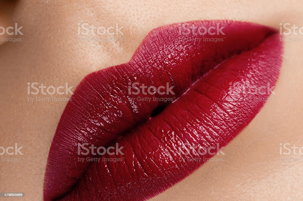 Lips stock photo