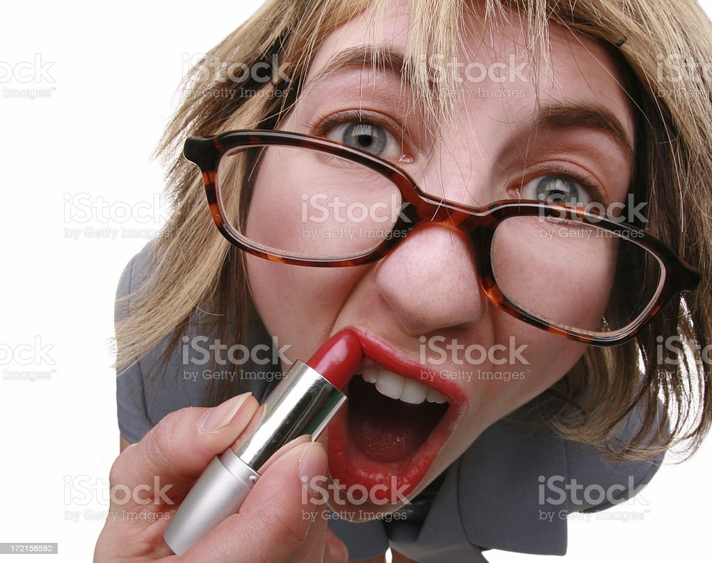 Lipstick Just Ain't Gonna Help... royalty-free stock photo