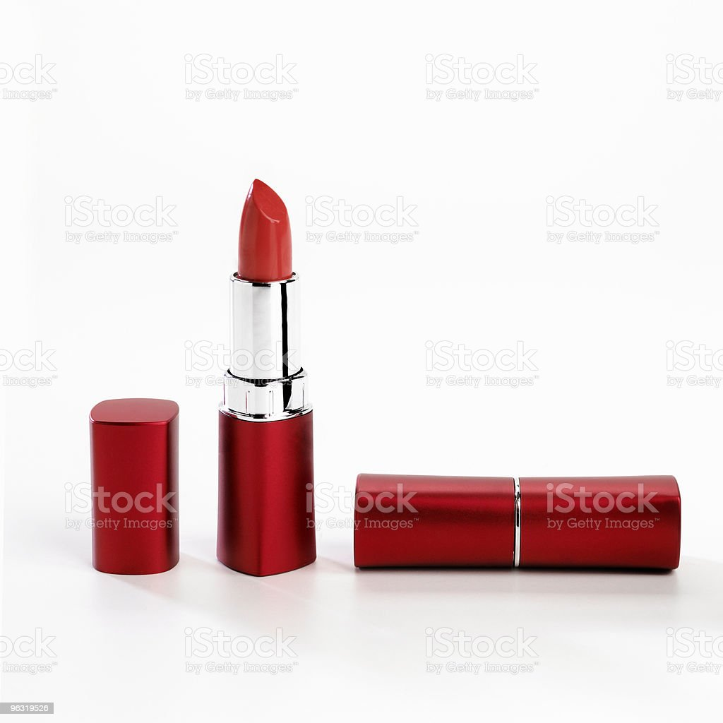 lipstick red royalty-free stock photo