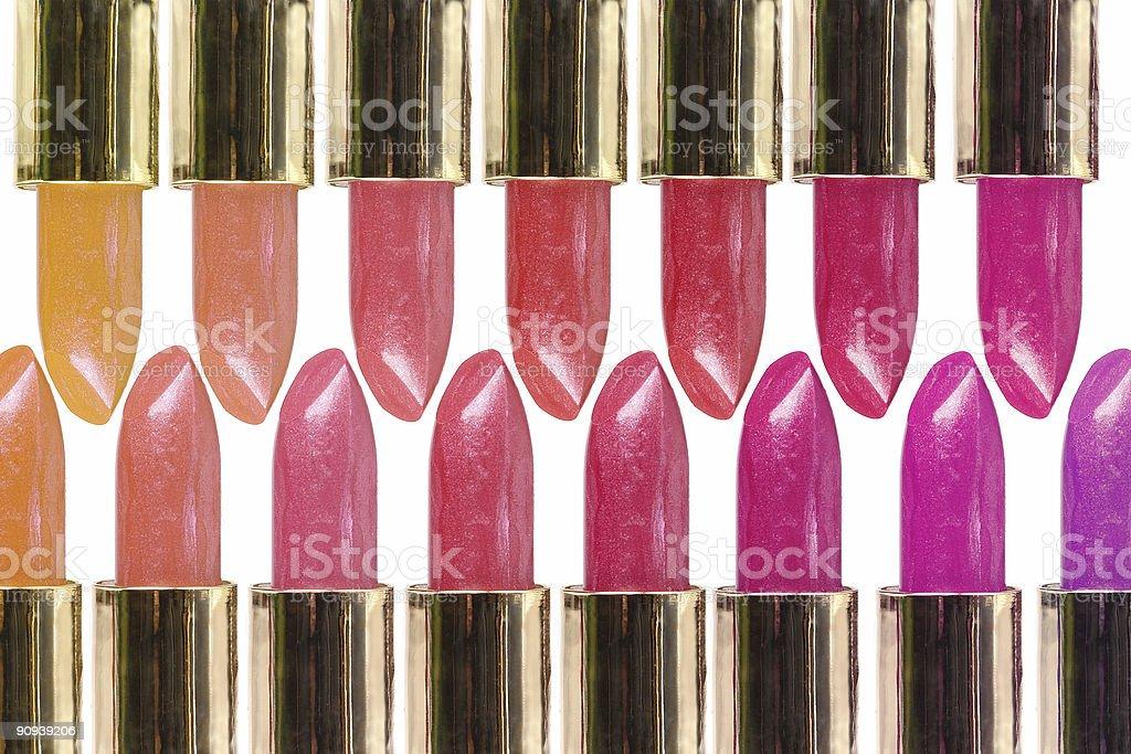 Lipstick selection royalty-free stock photo
