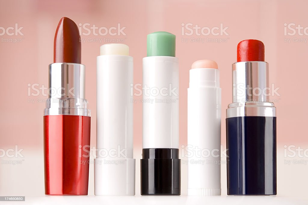 Lipstick series stock photo
