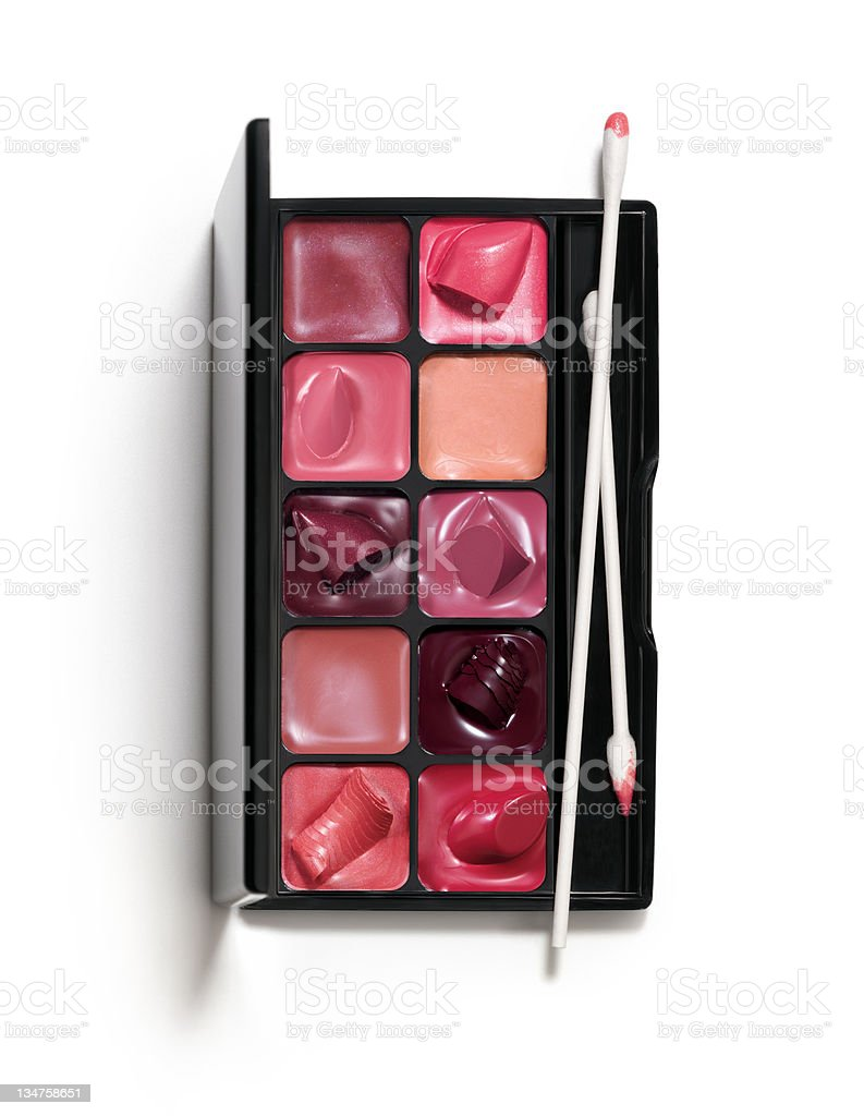 Lipsticks royalty-free stock photo