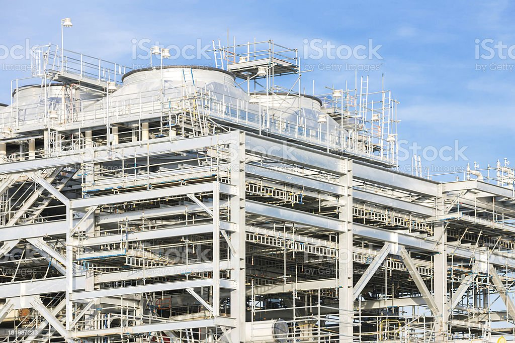 liquefied natural gas Refinery Factory stock photo