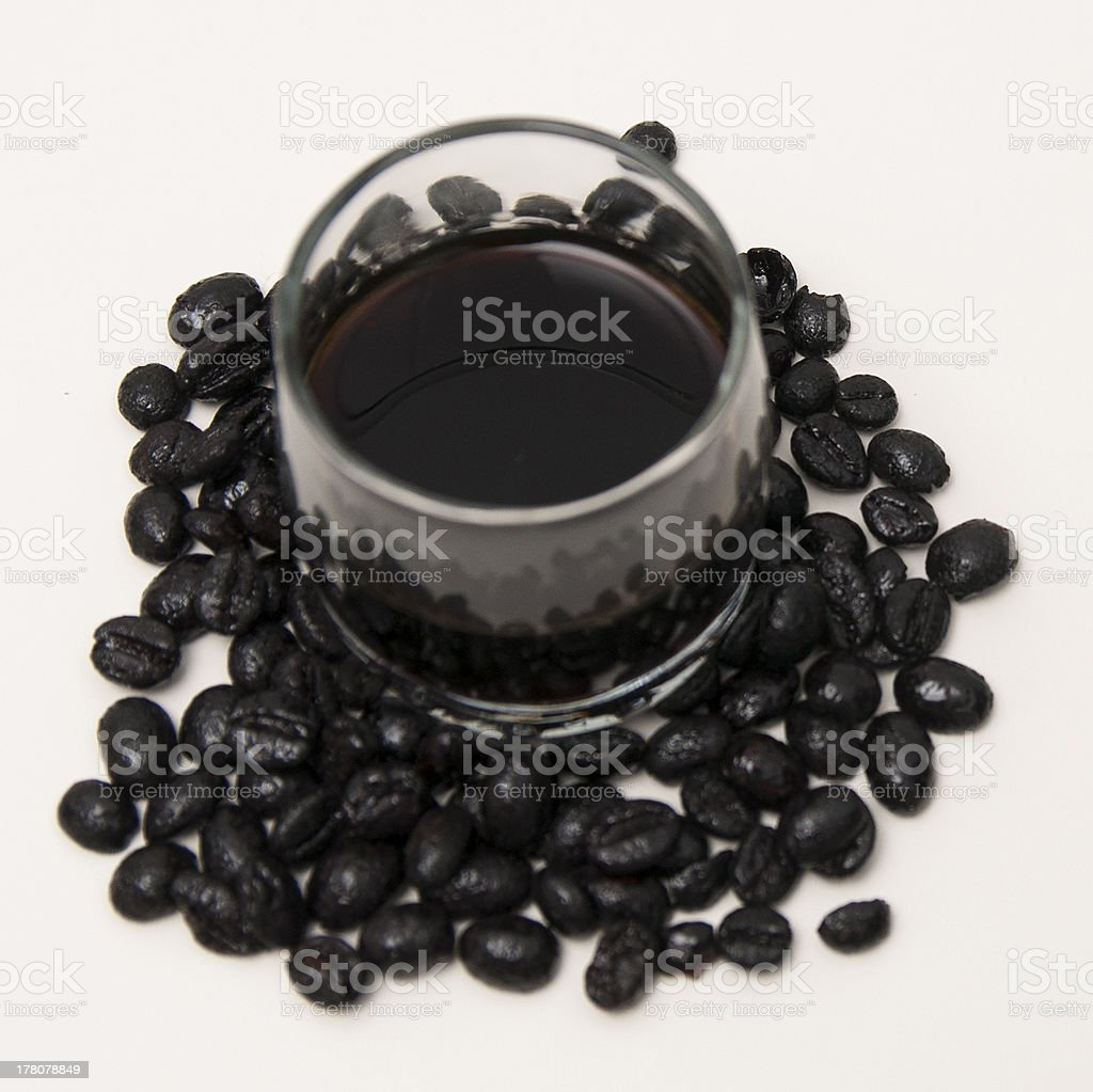 liqueur coffee royalty-free stock photo