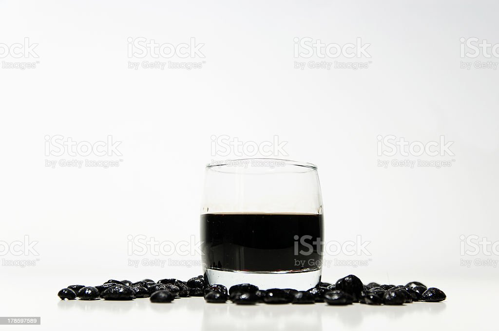 liqueur coffee royalty-free stock photo
