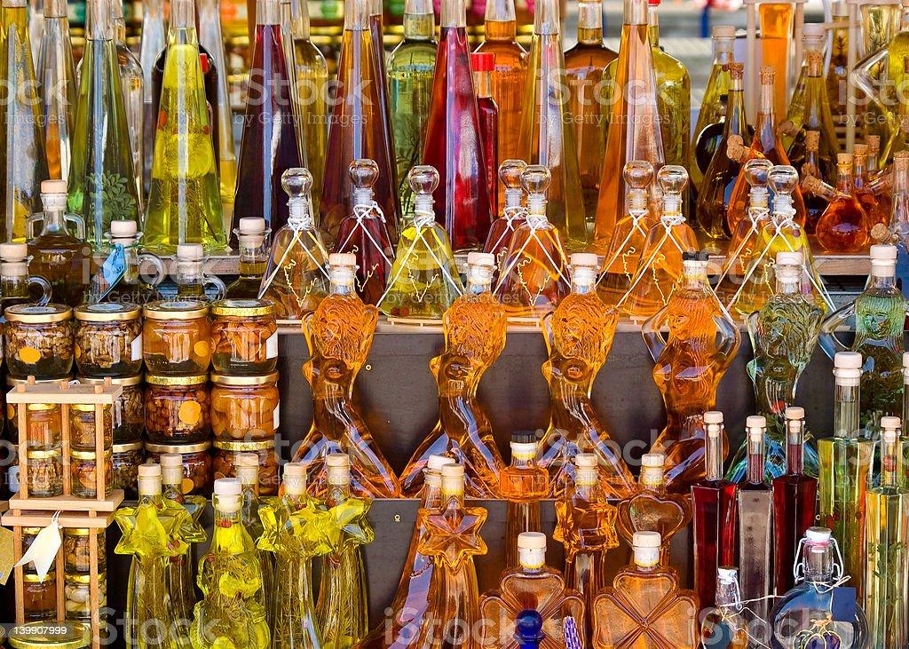 Liqueur stock photo