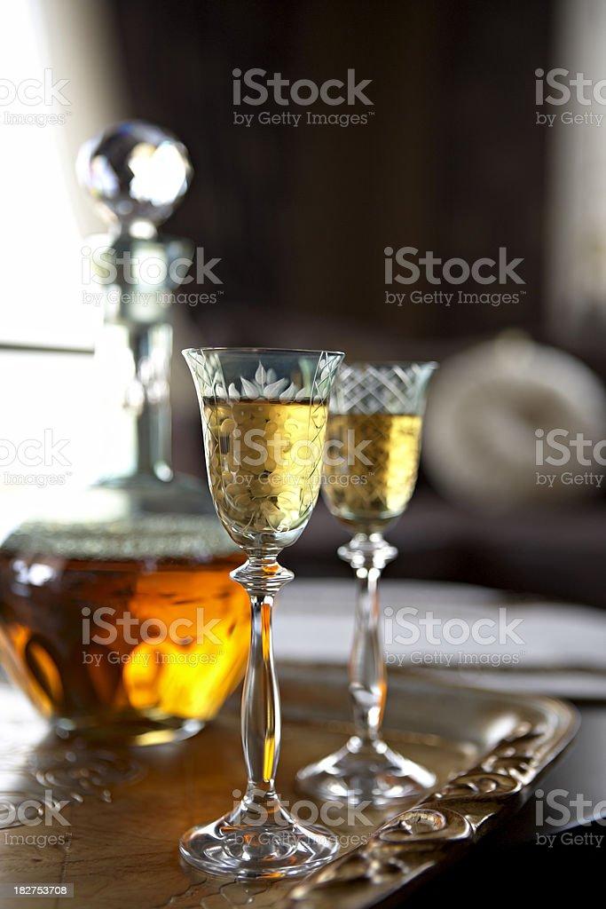 Liqueur royalty-free stock photo