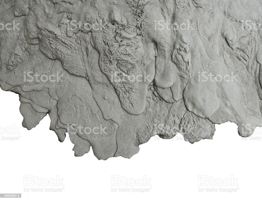 Liquid cement texture stock photo