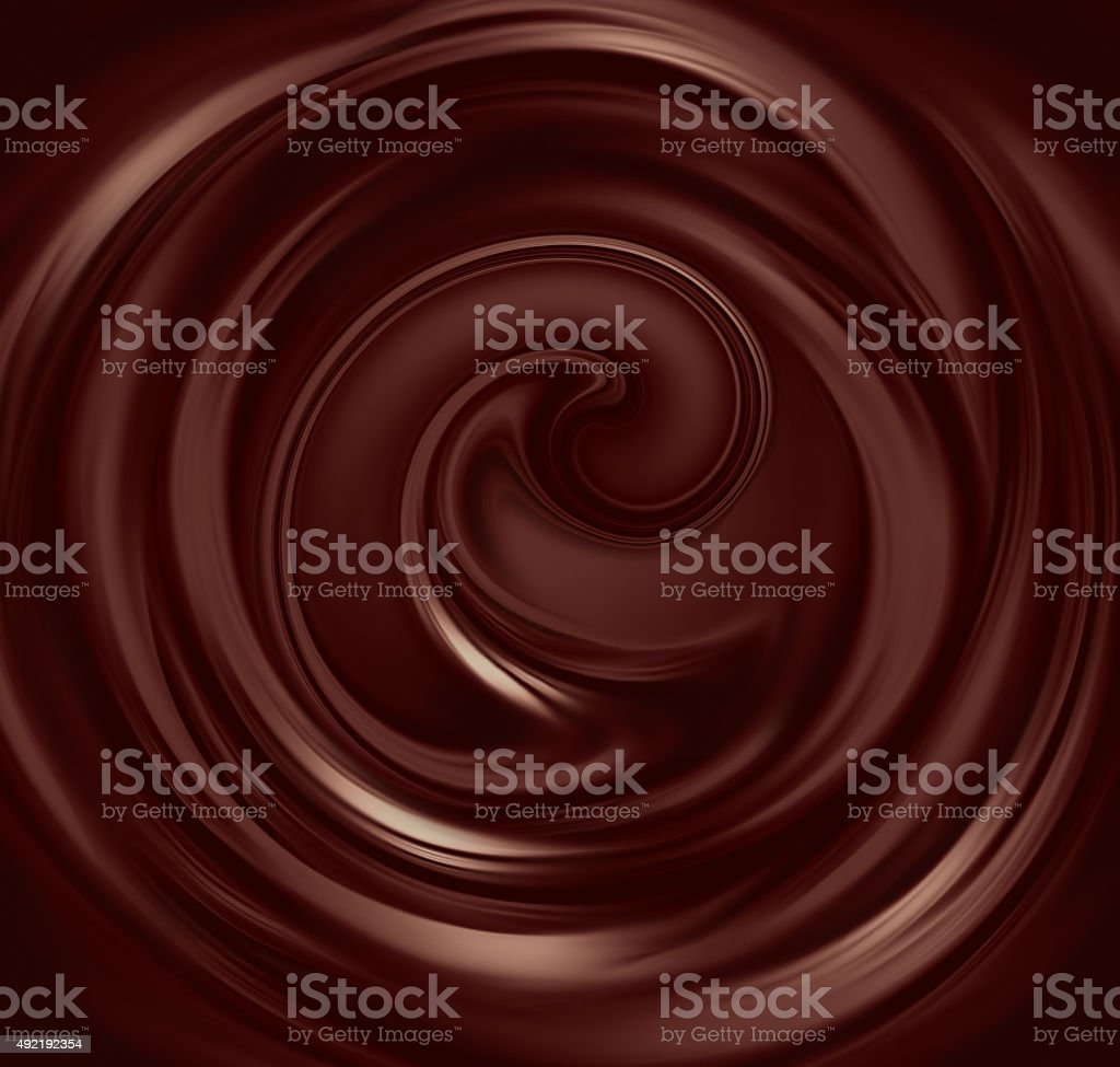 liquid chocolate stock photo