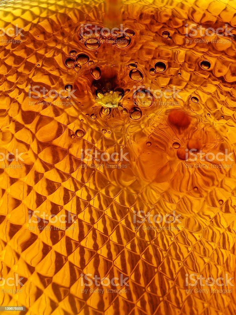 Liquid Gold 3 royalty-free stock photo
