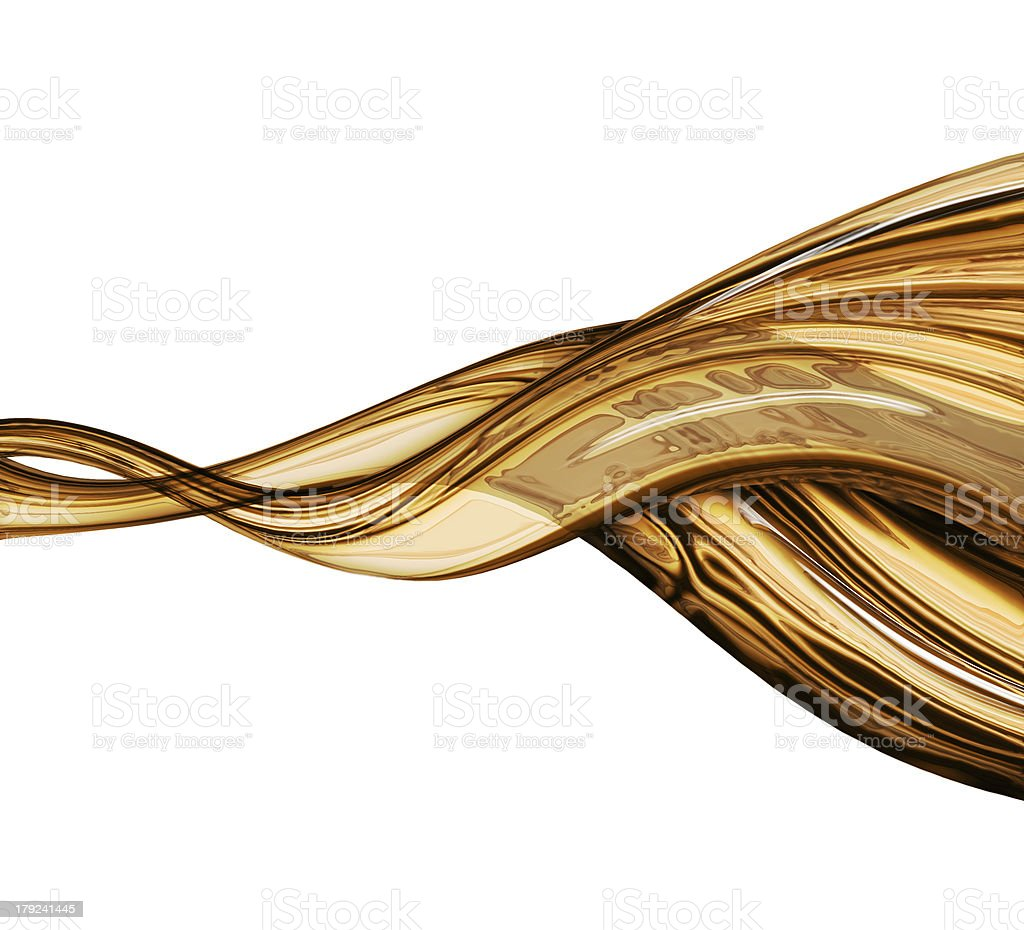 liquid gold royalty-free stock photo