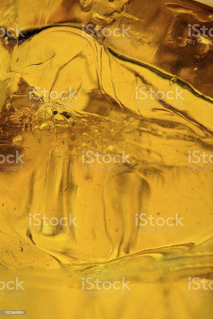 Liquid gold royalty-free stock photo