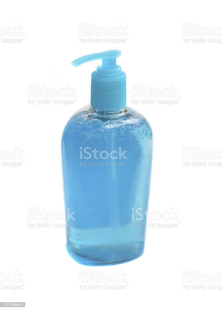 Liquid hand soap stock photo