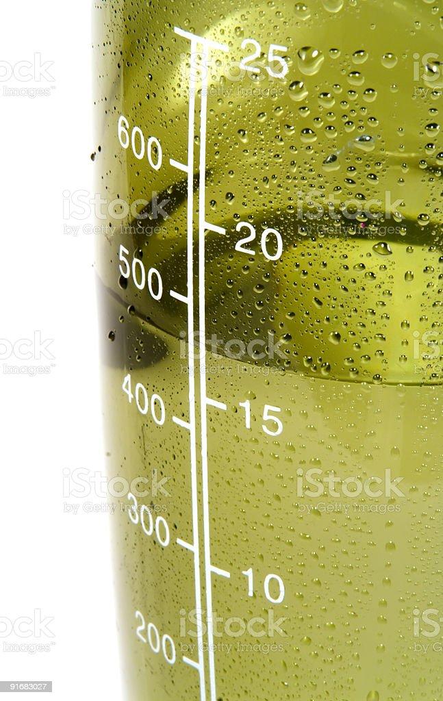 Liquid measurments stock photo