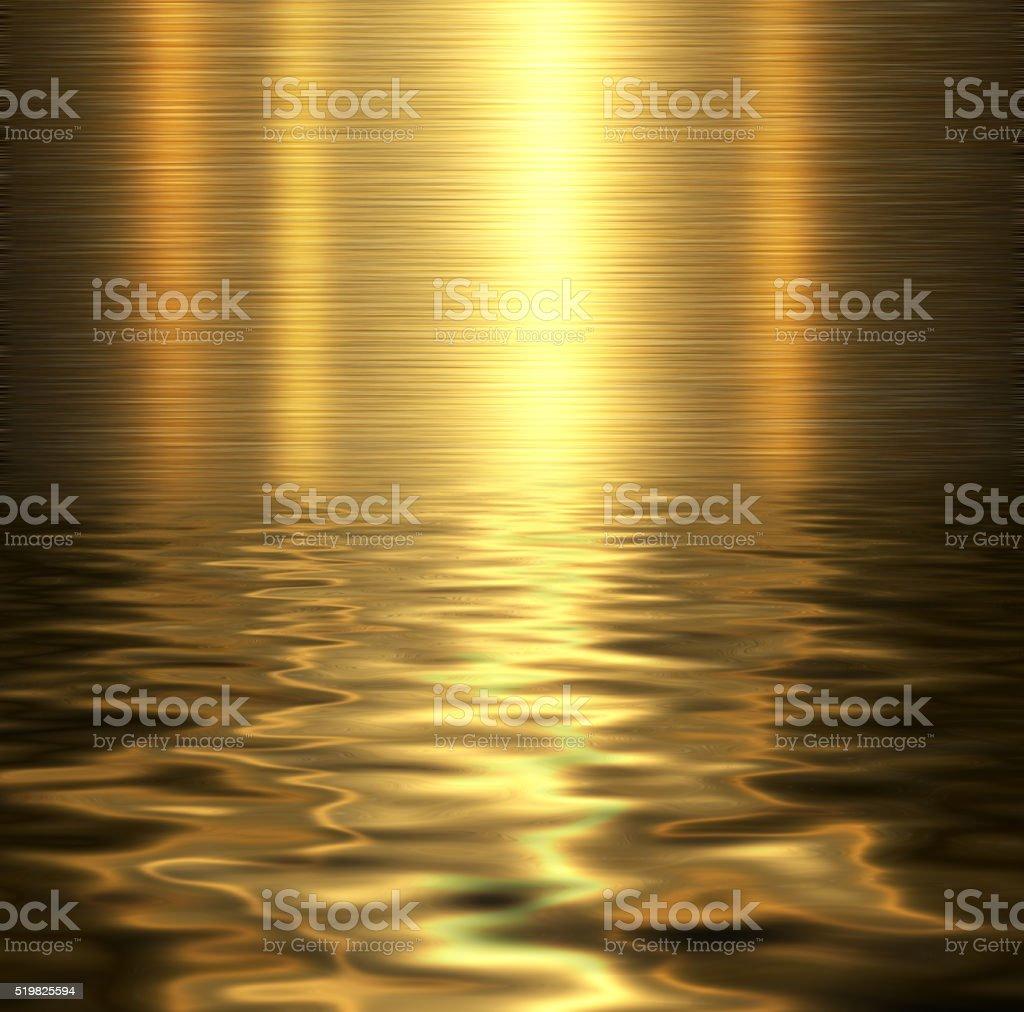 Liquid metal texture stock photo
