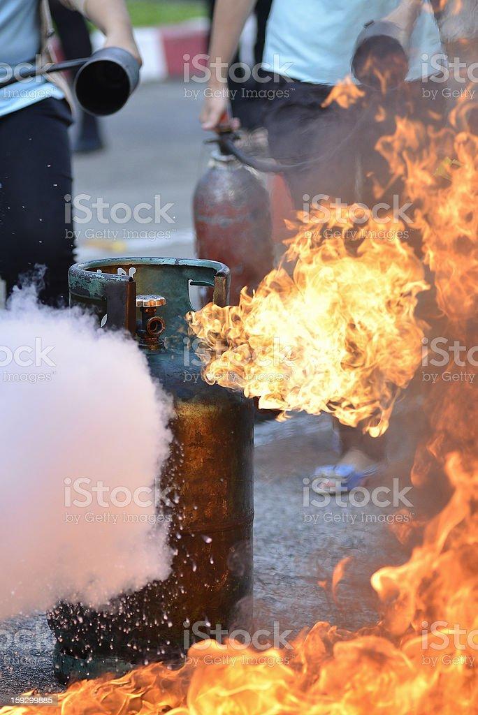liquid propane gas stock photo