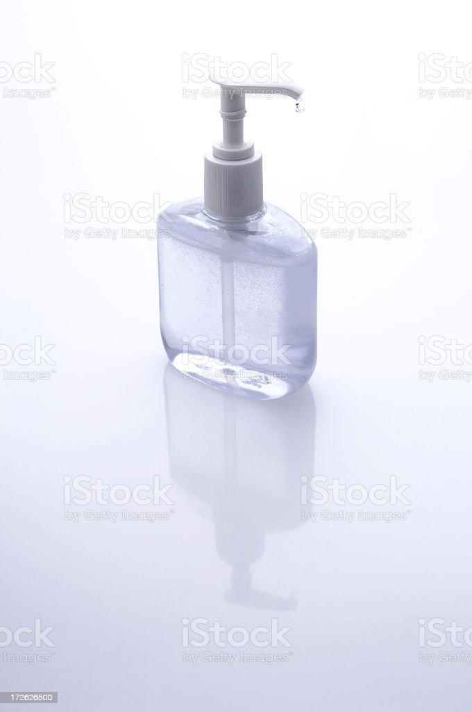 Liquid Soap Bottle royalty-free stock photo