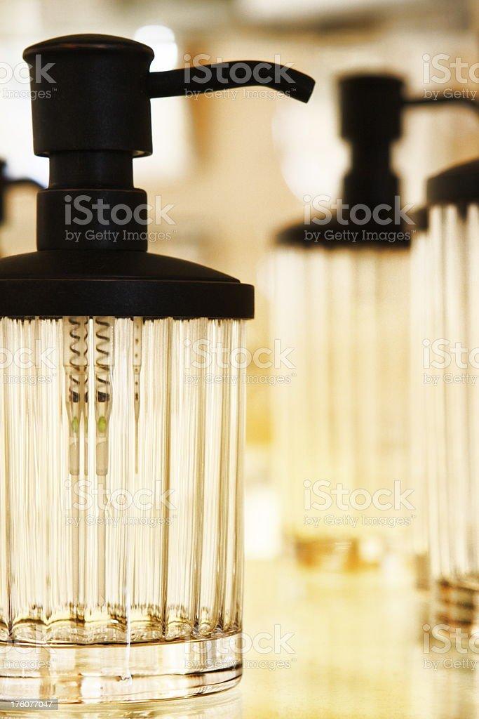 Liquid Soap Dispenser Bathroom Decor royalty-free stock photo