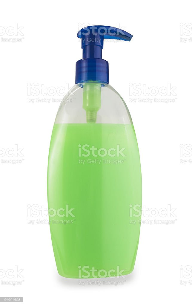 Liquid Soap with path royalty-free stock photo
