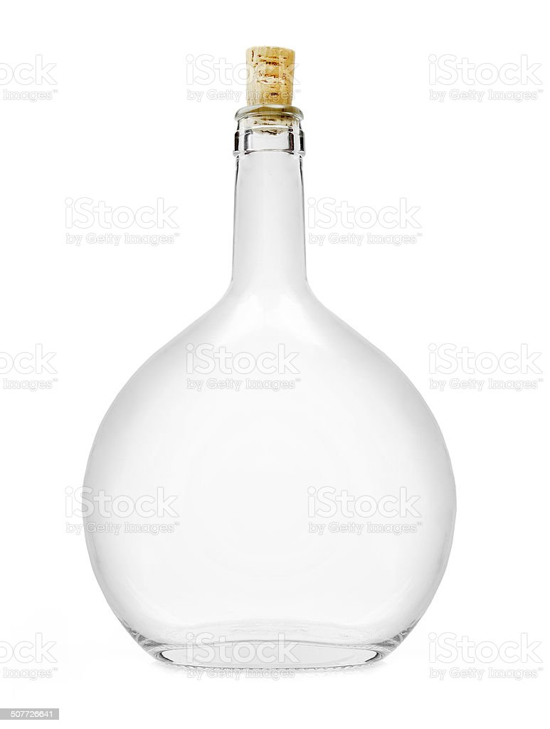 Liquor bottle. stock photo