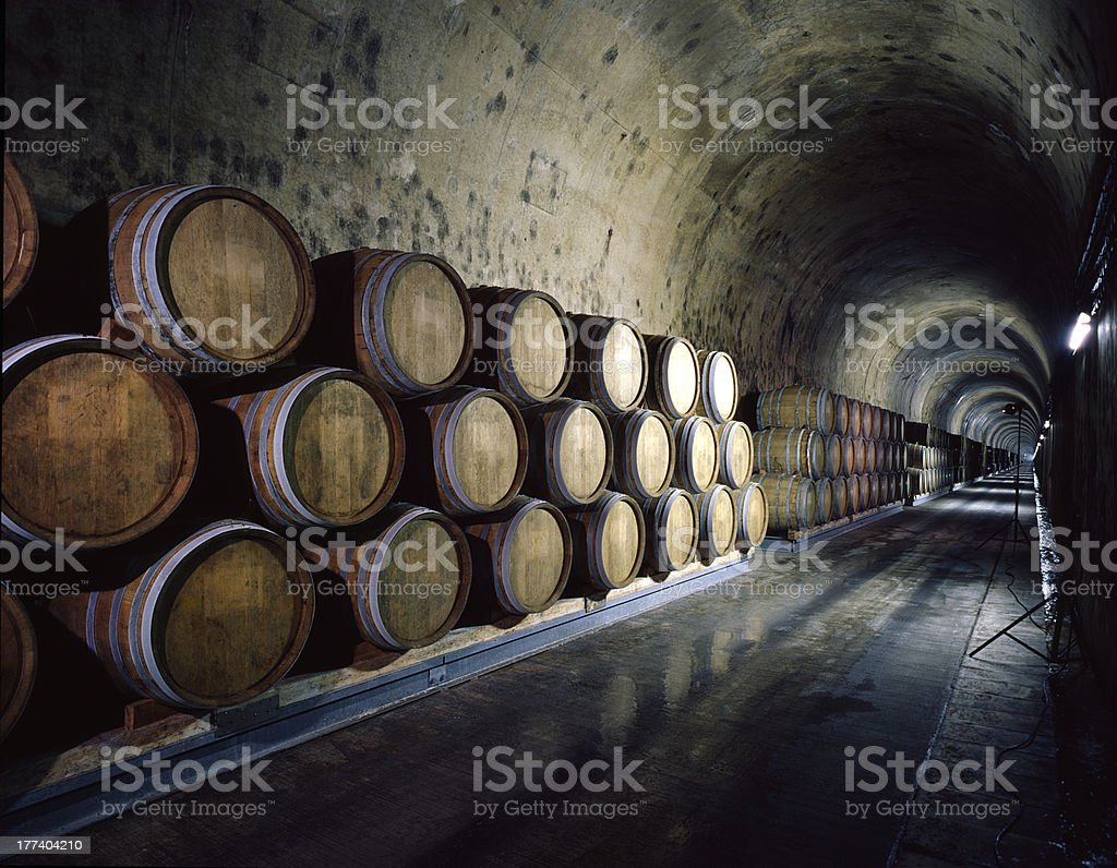 Liquor depot stock photo